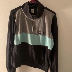 Pink Half-zip Jacket